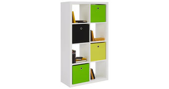 PREDELNA STENA 77/147/38 cm bela  - bela, Design, leseni material (77/147/38cm) - Boxxx
