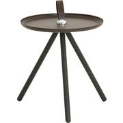 BEISTELLTISCH in Braun, Grau - Braun/Grau, Design, Holz/Metall (40/45cm) - Rolf Benz