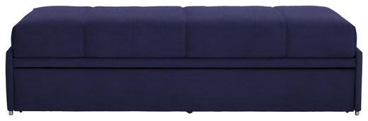 SCHLAFSOFA Flachgewebe Dunkelblau - Dunkelblau, Design, Textil (212/56/98cm) - Bali