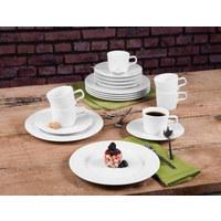 FRÜHSTÜCKSTELLER Keramik Porzellan  - Weiß, Basics, Keramik (24cm) - Seltmann Weiden