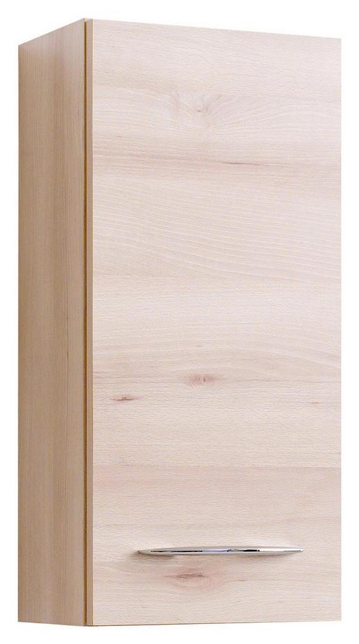 OBERSCHRANK Buchefarben - Chromfarben/Buchefarben, Design, Holzwerkstoff/Metall (30/64/20cm) - Carryhome