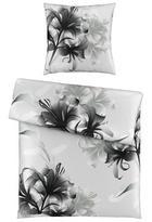 BETTWÄSCHE Satin Silberfarben 135/200 cm - Silberfarben, KONVENTIONELL, Textil (135/200cm) - Esposa