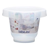 BABYBADEEIMER - Transparent, Basics, Kunststoff (46/46/35cm) - Bebe Jou