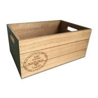 KISTE - Naturfarben, Basics, Holz (30/13,5/20cm) - Ambia Home