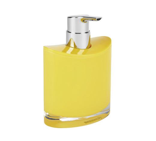 SEIFENSPENDER Kunststoff - Gelb, Basics, Kunststoff (10,8/11,3/6,4cm) - Sadena