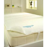 MATRATZENAUFLAGE  - Weiß, Basics, Textil (140/200cm) - Sleeptex