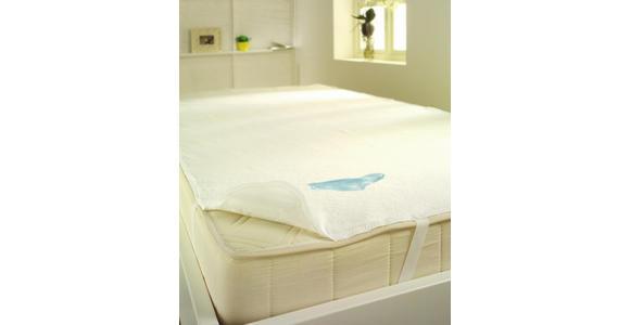 MATRATZENAUFLAGE 120/200 cm  - Weiß, Basics, Textil (120/200cm) - Sleeptex