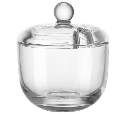 ZUCKERDOSE - Klar, Basics, Glas (9/10.5cm) - Leonardo
