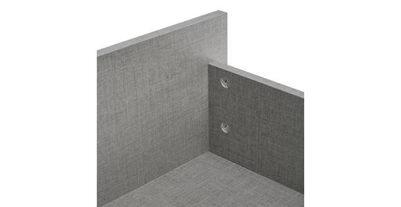 Bettkastenset Alicante - Grau, MODERN, Holzwerkstoff (137,2cm) - Luca Bessoni