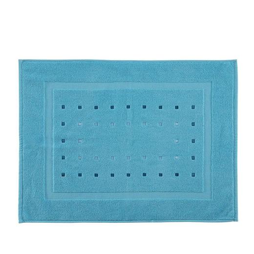 BADEMATTE  Türkis  50/70 cm - Türkis, Design, Textil (50/70cm) - Esposa