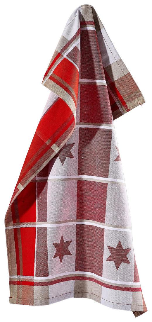 GESCHIRRTUCH-SET - Rot, Basics, Textil (50/70cm) - Esposa