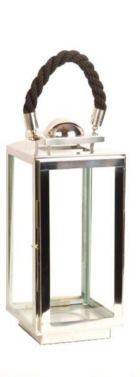LYKTA - silver, Design, metall/glas (38cm) - Ambia Home