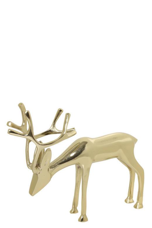 DEKOHIRSCH  Goldfarben - Goldfarben, Design, Metall (7/27,5/23cm)
