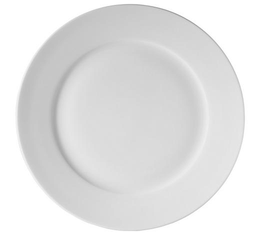 DEZERTNÍ TALÍŘ, kostní porcelán (bone china) - bílá, Basics, keramika (22cm) - Novel
