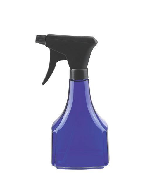 SPRÜHFLASCHE - Klar/Dunkelblau, Basics, Kunststoff (0.6l)