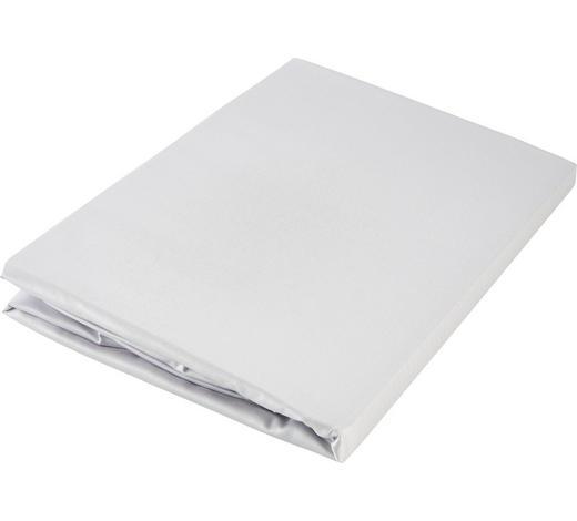 SPANNLEINTUCH 90/200 cm - Grau, Basics, Textil (90/200cm) - Curt Bauer