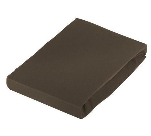 TOPPER-SPANNLEINTUCH - Braun, Basics, Textil (140/220cm) - Novel
