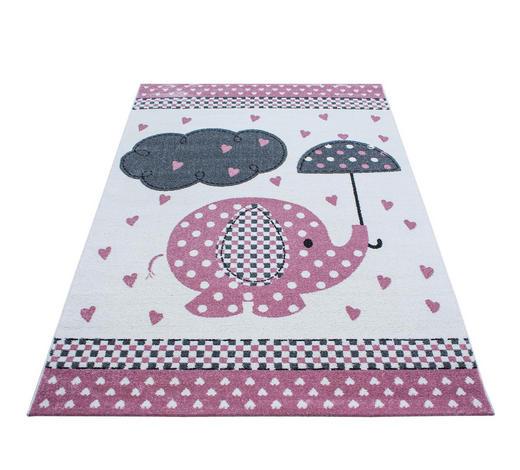 KINDERTEPPICH 80/150 cm - Pink, Trend, Textil (80/150cm) - Ben'n'jen
