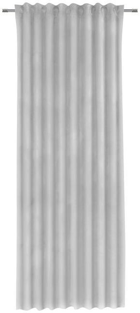GARDINLÄNGD - silver, Klassisk, textil (135/255cm)