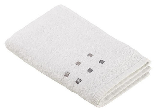 GÄSTETUCH Weiß 30/50 cm - Weiß, Basics, Textil (30/50cm) - Esposa