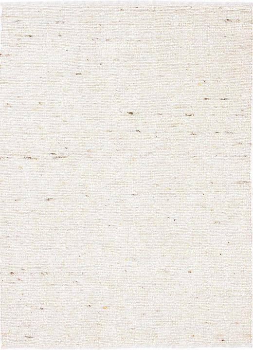 HANDWEBTEPPICH  90/160 cm  Beige - Beige, Basics, Textil/Weitere Naturmaterialien (90/160cm) - Linea Natura