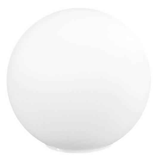TISCHLEUCHTE - Weiß, LIFESTYLE, Glas (20cm)