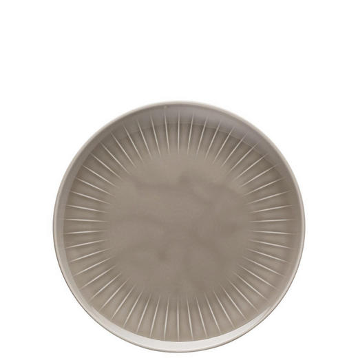 TELLER Keramik Porzellan - Grau, Basics, Keramik (24cm)