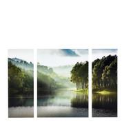 Landschaft & Natur GLASBILD - Multicolor, LIFESTYLE, Glas (120/80/5cm) - Eurographics