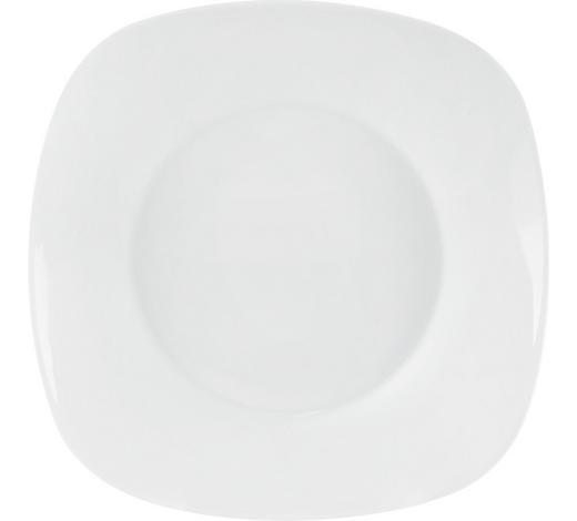 SUPPENTELLER 23 cm - Weiß, Basics, Keramik (23cm) - Homeware