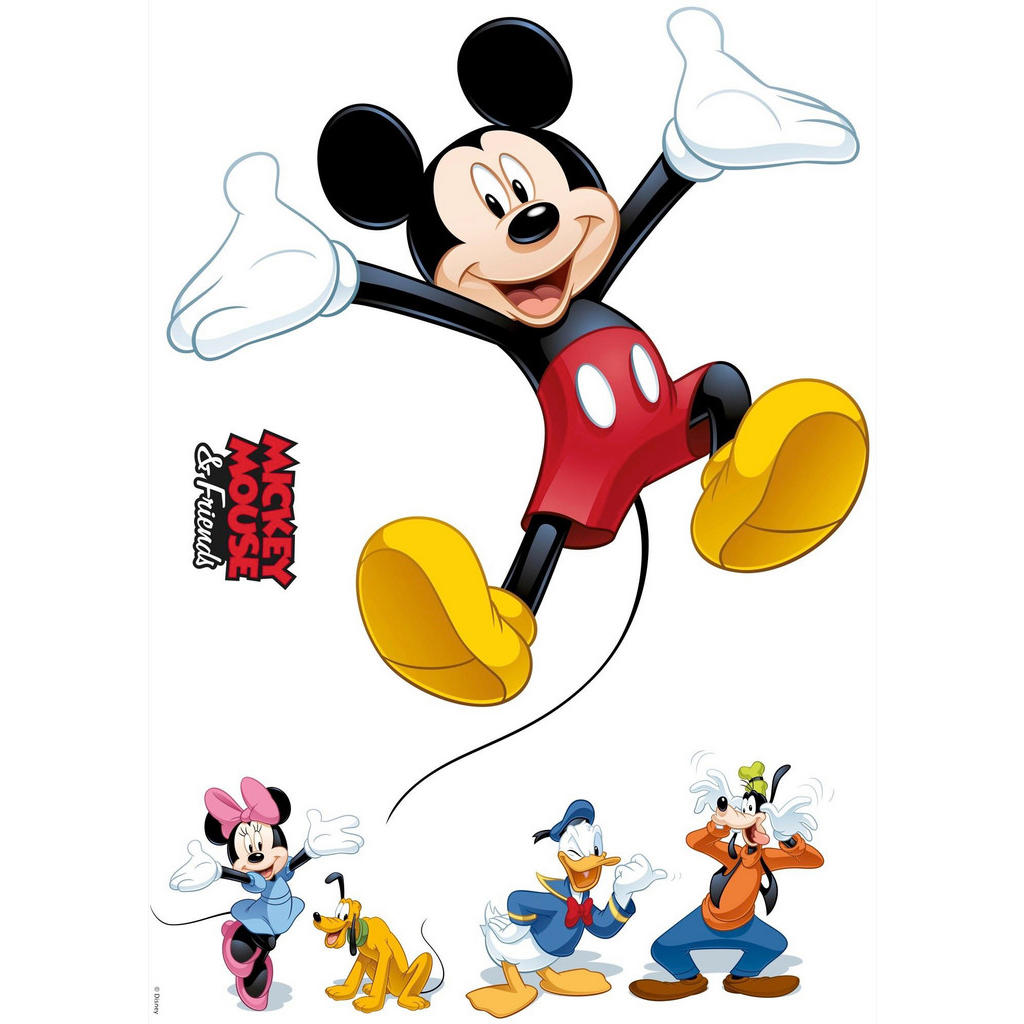 Dekosticker 'Micky Maus'