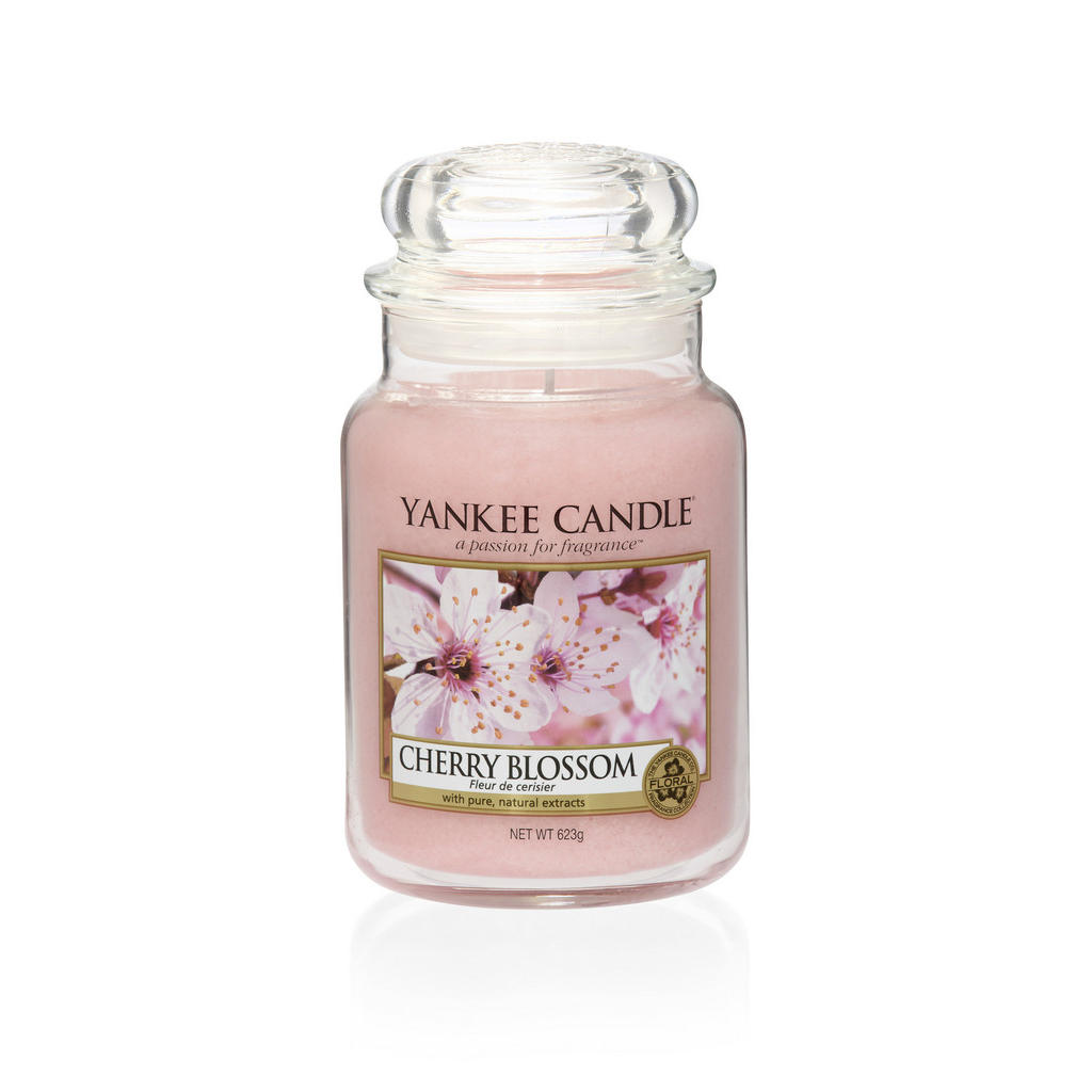 Yankee Candle Duftkerze yankee candle cherry blossom