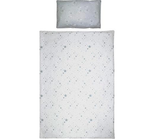 KOJENECKÉ POVLEČENÍ, 100/135 cm, šedá - šedá, Basics, textil (100/135cm) - My Baby Lou
