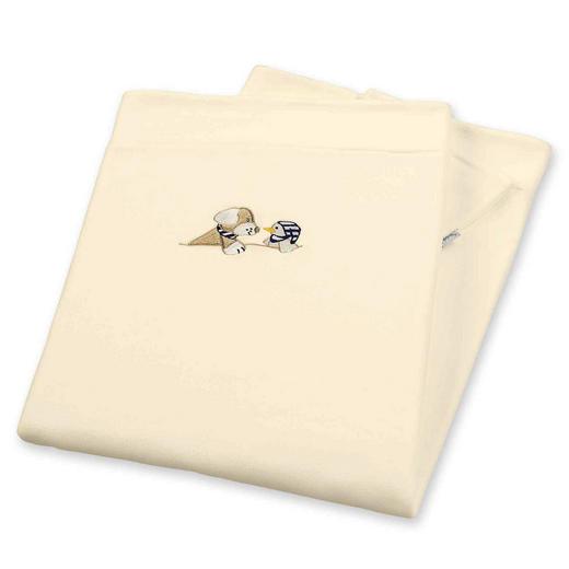 SCHMUSEDECKE - Beige, Basics, Textil (100/75/1cm) - Sterntaler