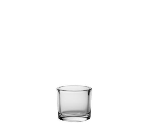 TEELICHTGLAS - Klar, Basics, Glas (9/8cm) - Ambia Home