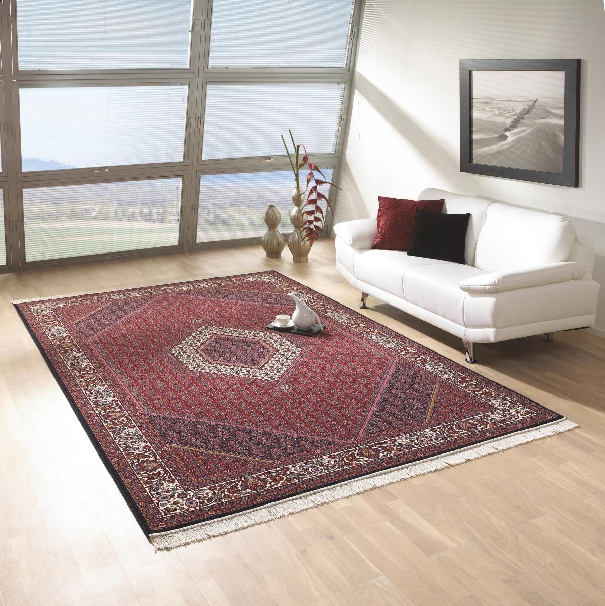 VÄVD MATTA - röd, Klassisk, textil (250/350cm) - ESPOSA