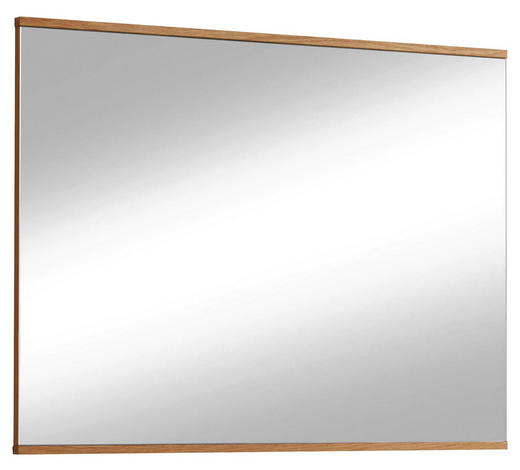 WANDSPIEGEL 82/61/3 cm   - Eichefarben, Design, Glas/Holz (82/61/3cm) - Novel