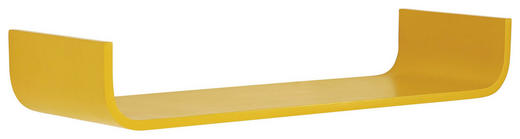 WANDBOARD Birke massiv Gelb - Gelb, Design, Holz (80/12/25cm) - Carryhome