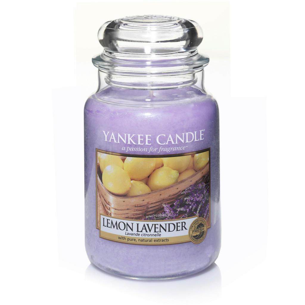 Yankee Candle Duftkerze yankee candle lemon lavender