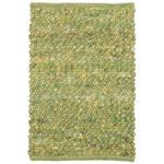 HANDWEBTEPPICH  Sligo Swing   - Grün, KONVENTIONELL, Textil (130/200cm) - Linea Natura