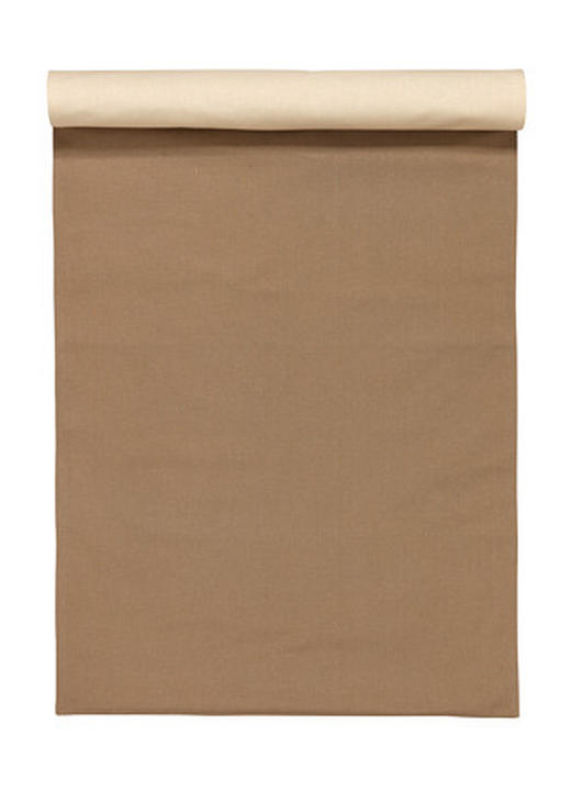 TISCHLÄUFER 45/150 cm - Schlammfarben, Basics, Textil (45/150cm) - LINUM
