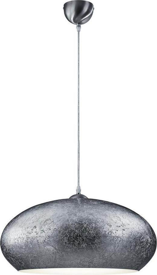 HÄNGELEUCHTE - Silberfarben/Weiß, LIFESTYLE, Metall (50/150cm)