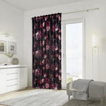 FERTIGVORHANG  halbtransparent  135/245 cm   - Bordeaux, LIFESTYLE, Textil (135/245cm) - Ambiente