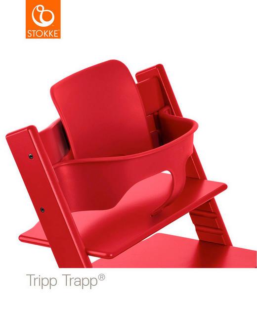 Tripp Trapp Baby Set Red - Rot, Basics, Kunststoff (43/19/22cm) - Stokke
