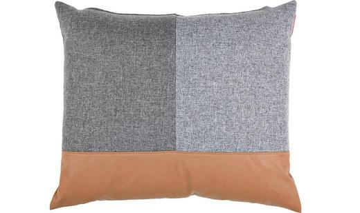 KISSEN - Schwarz/Braun, Design, Textil (210/68/90cm) - Innovation