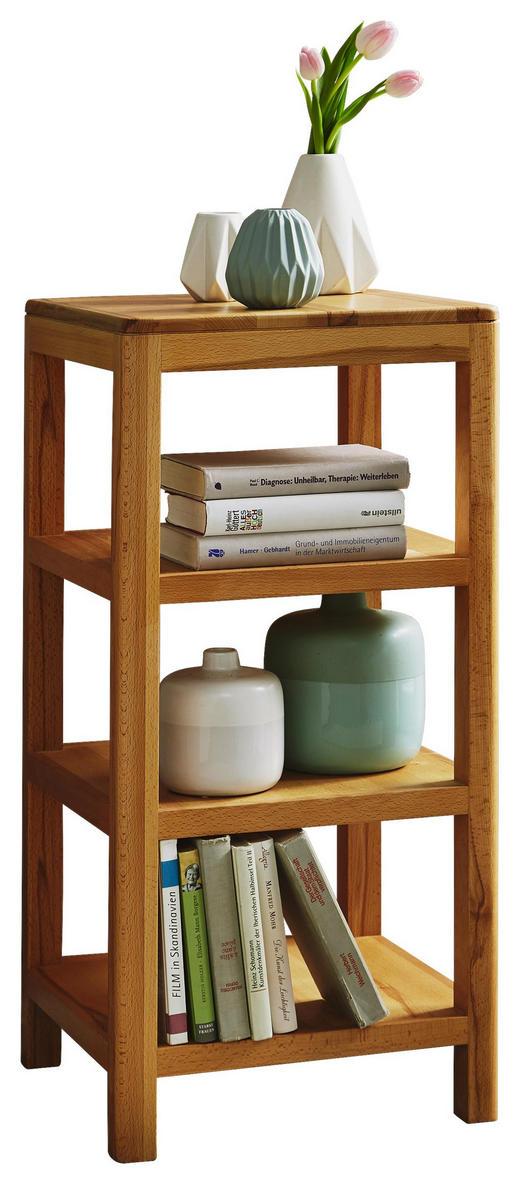 REGAL Kernbuche vollmassiv Buchefarben - Buchefarben, Design, Holz (40/83/40cm) - Carryhome
