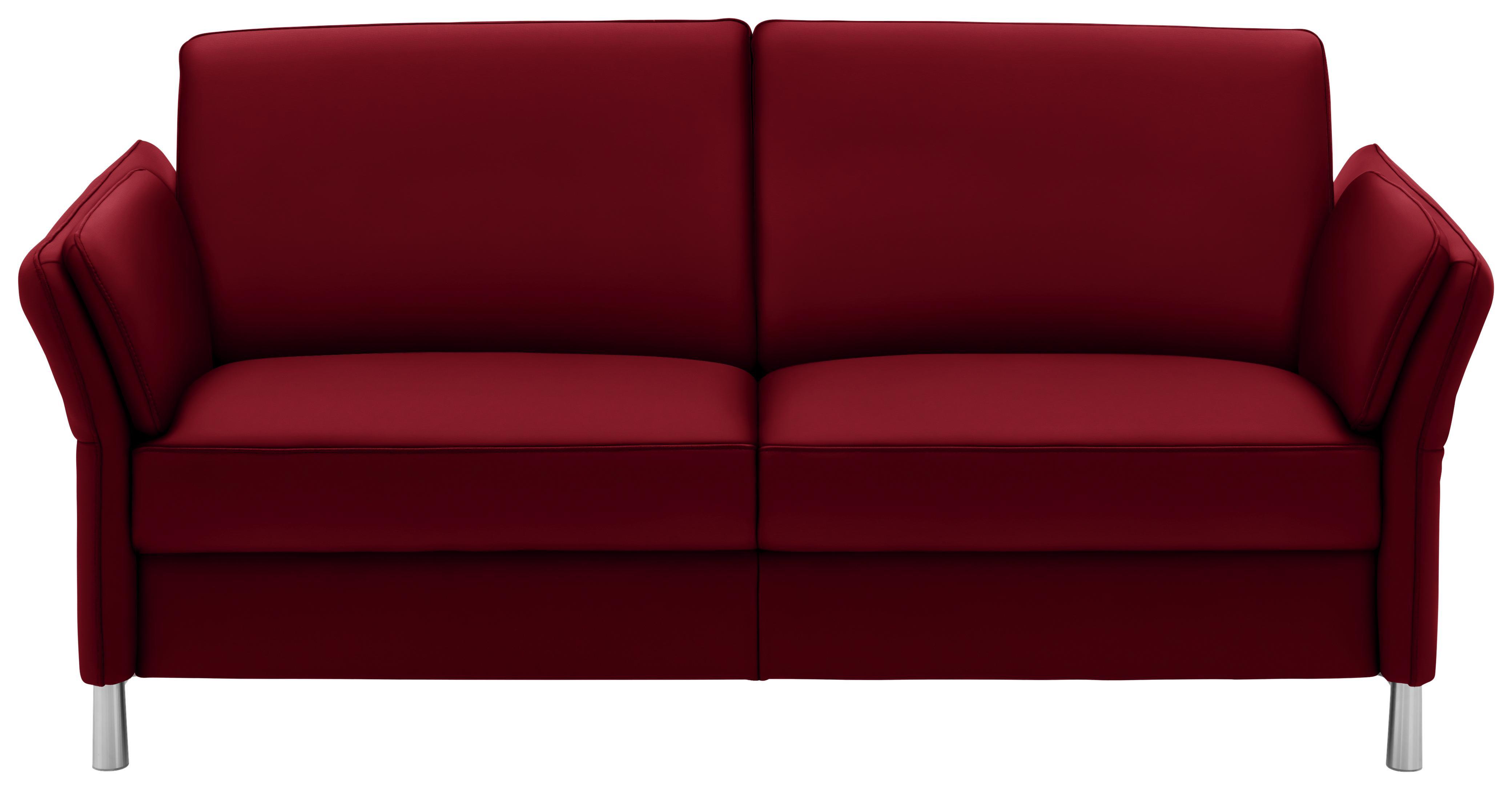 Dreisitzer Sofa In Leder Rot Online Kaufen Xxxlutz