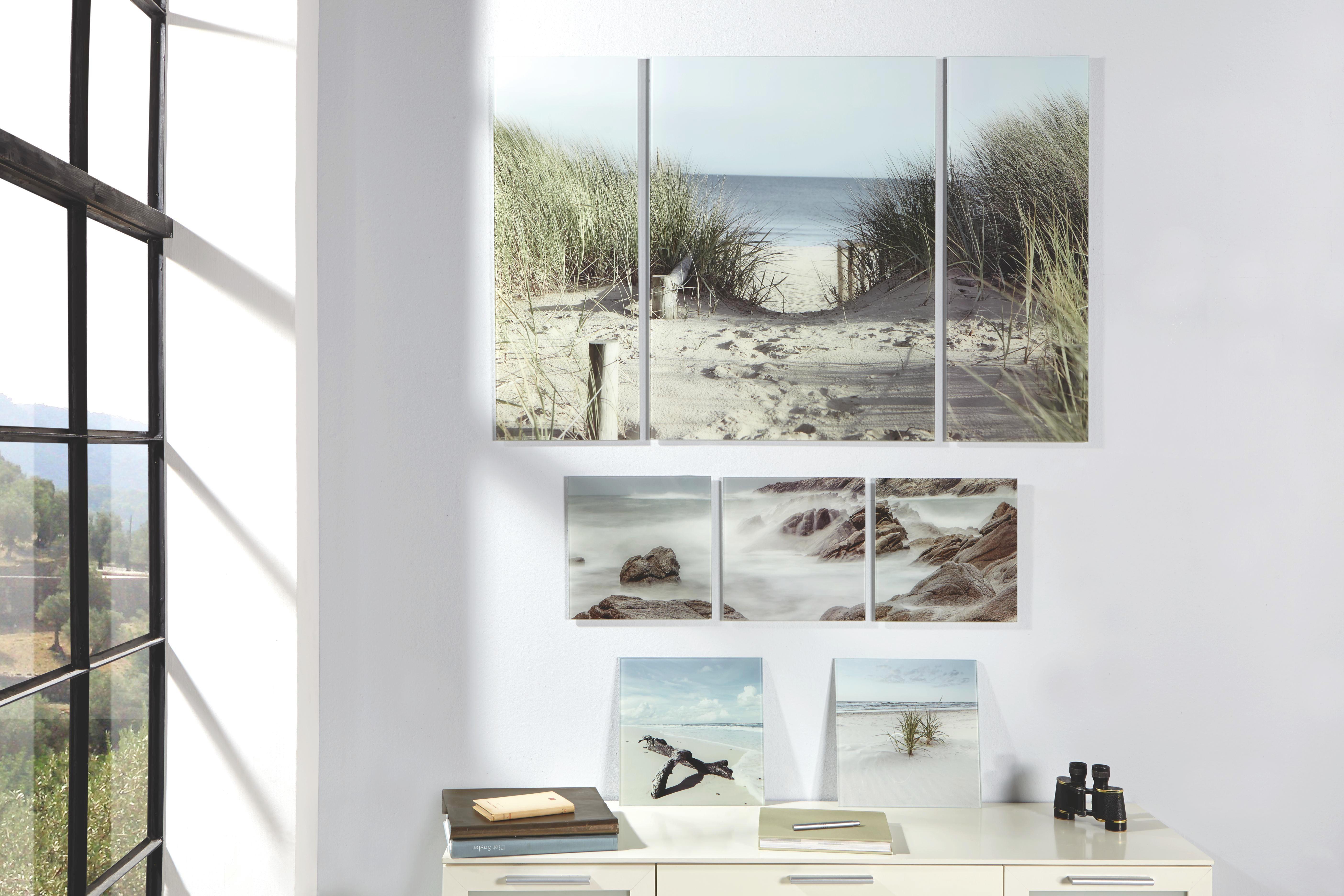 STAKLENA SLIKA - višebojno, Design, staklo (120/80/5,00cm) - EUROGRAPHICS