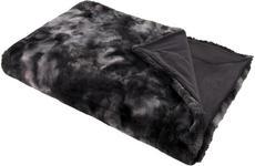 FELLDECKE 150/200 cm Dunkelgrau  - Dunkelgrau, Basics, Textil (150/200cm) - Novel