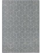 VINTAGE-TEPPICH - Blau/Edelstahlfarben, LIFESTYLE, Textil (125/185cm) - Dieter Knoll