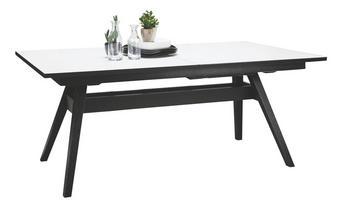 MATBORD - vit/svart, Lifestyle, trä (183(275)/100/74cm) - SKOVBY